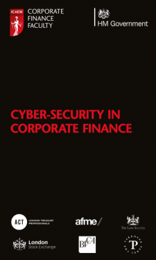 ICAEW Corporate Finance and Cyber Risk Guidance